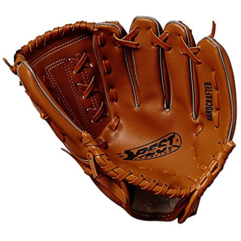 BEST BASEBALL-HANDSCHUHE 10 IN, braun, 10