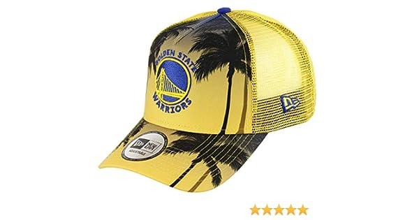 New Era NBA Berretto Camionista Regolabile Pallacanestro Snapback Maglia Taglia Unica Palma