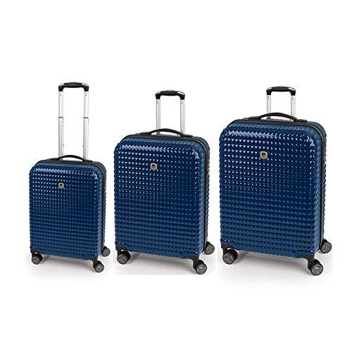 Set 3 Maletas C22-M-L Quartz Gabol Azul