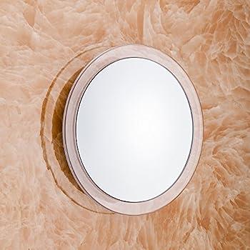 Gotofine Spiegel Mit Saugnapfmakeup-spiegel Mit 10x Vergrößerung Und 3 Starken Saugnäpfen Für Freie Hände Beim Schminken Und Rasieren, Klar, Transparent, Rund 4