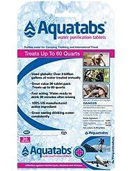 Aquatabs Pastillas potabilizadoras de agua