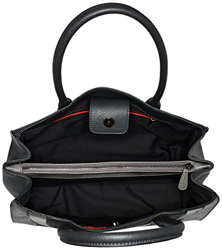 s.Oliver Damen Shopper dark grey 9827