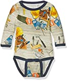 Care Baby - Jungen Body Leo 550148, All Over Print, Gr. 92, Mehrfarbig (Dress Blues 7721)