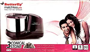 Butterfly Matchless Table Top Wet Grinder 2.0 Ltr