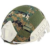 haoyk al aire libre militares camuflaje táctico para Airsoft y Paintball Gear combate rápido casco cubierta, DW