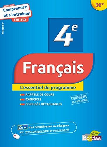Comprendre et s'entraîner - Français 4e