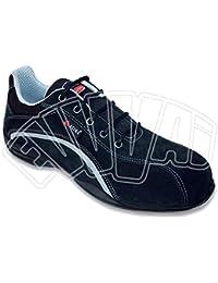 Fratelliditalia Schuhe Stiefel Stiefel Unfallverhütung Hohe SP1Produkt Italien Arbeit, schwarz