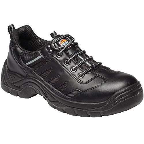 Dickies Workwear Mens Super Stockton FA13335B Trainer, colore: nero Nero (nero)