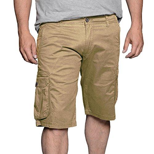 Kashmir Herren Shorts Beige (Light Sand 0729)