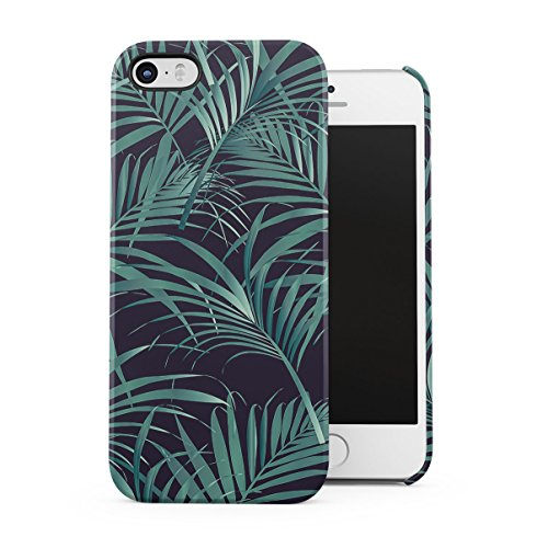 Palm Trees Good Vibes Only Pink Pastel Hipster Summer Pattern Tumblr Apple iPhone 5 , iPhone 5S , iPhone SE Snap-On Hard Plastic Protective Shell Case Cover Custodia Wilf Tropic Flower