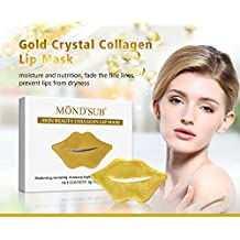 MOND'SUB Skin Beauty Collagen Lip Mask (Pack of 10 x 8g)