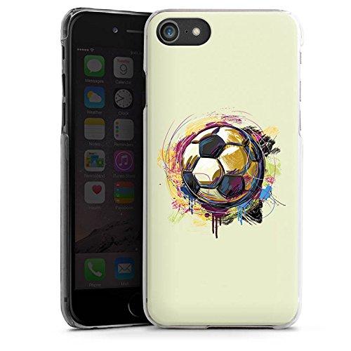 Apple iPhone X Silikon Hülle Case Schutzhülle Fußball Sport Ball Hard Case transparent