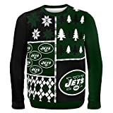 Klew NFL Pullover Busy Block Größe L New York Jets