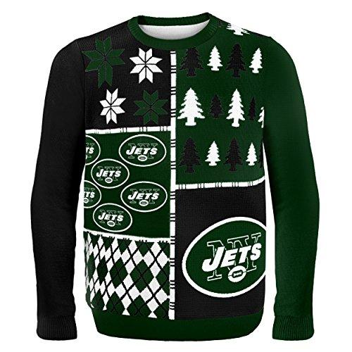 Klew NFL Pullover Busy Block Größe L New York Jets