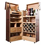 Invicta Interior 36118 Bar Weinschrank Globetrotter