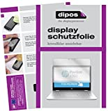 dipos I 2X Schutzfolie klar passend für HP Pavilion x360 14 ba035ng Folie Bildschirmschutzfolie