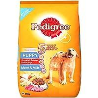 Pedigree Puppy Dog Food Meat & Milk, 20 kg Pack