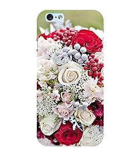 Flower Bouquet 3D Hard Polycarbonate Designer Back Case Cover for Apple iPhone 6S