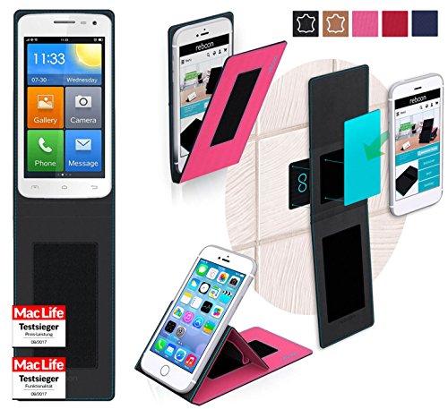 reboon Hülle für Elephone G3 Tasche Cover Case Bumper | Pink | Testsieger