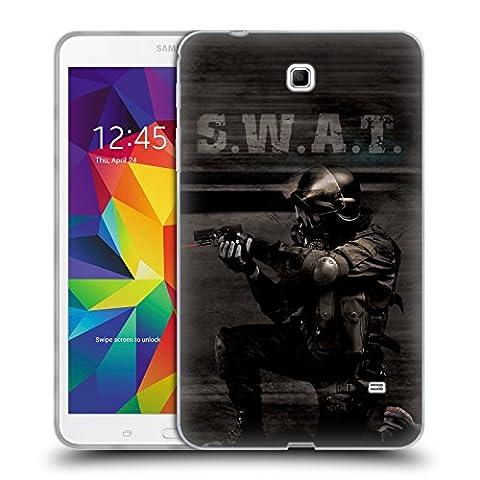 Officiel Jason Bullard En Action Swat Étui Coque en Gel molle pour Samsung Galaxy Tab 4 8.0