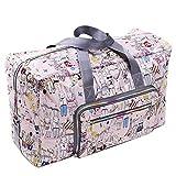 PELLOR 50L Faltbare Wasserdicht Duffle Bag Reisetasche Aufbewahrungstasche Gepäcktasche für Reisen...