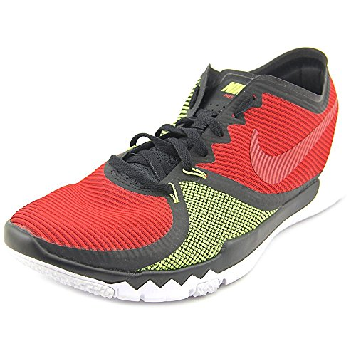 Nike Uomo Free Trainer 3.0 V4 scarpe sportive Black / University Red / Volt