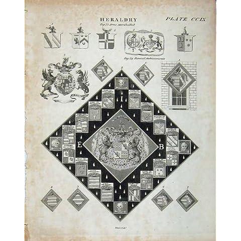Il Cappotto dell'Araldica di Britannica dell'Enciclopedia Arma Drummond - Cappotto Britannico Di Armi