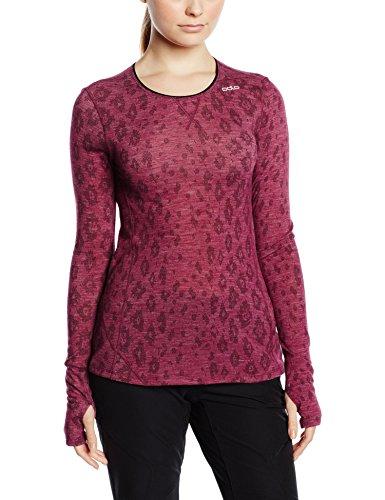 Odlo Damen Shirt Long Sleeve Crew Neck Planai Revolution TW, Magenta Purple, L, 110201 Preisvergleich