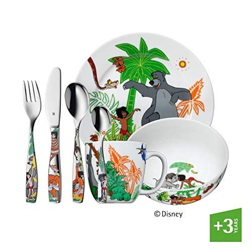 WMF 1283309974 Kinderbesteck-Set 7-teilig Dschungelbuch