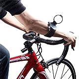 Fahrrad Rückansicht Spiegel-Schlanke Passform, Drehbar & Zusammenklappbare Spiegel-Bike-Backeye Verstellbare Armband-Handgelenks Verschleiß Fahrrad-Spiegel Für Die Sicherheit Rückansicht Bike-Zubehör