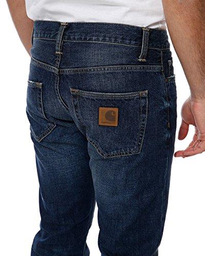 Carhartt Herren Straight Fit Jeans BlueOne blau Natural Dark Washed