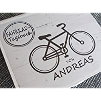 Fahrrad-Tagebuch PERSONALISIERBAR Ringbuch DIN A5
