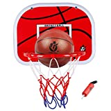 Likecom 38cm Upgrade Typ Kinder Indoor Outdoor Hängenden Basketballkorb Set Box Mini Basketballbrett Kinder Freizeit Sport
