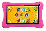 Kinder-Tablet mit 7-Zoll-Touchscreen, Android Jelly Bean, 8GB Speicher, WIFI und über 50 Lernspiele vorinstalliert