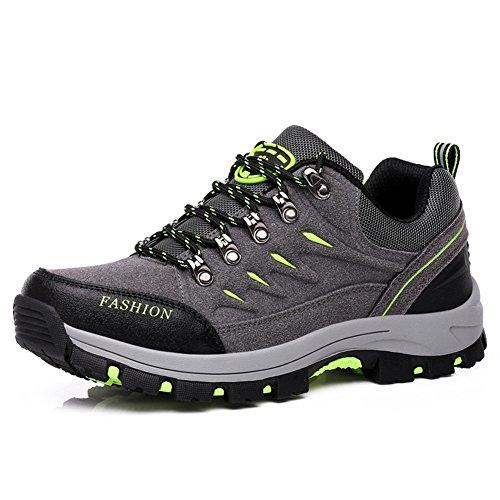 Scarpe Da Trekking Per Uomo Stringata Comoda scarpe Cross-Country Autunno grigio 43 EU Casual