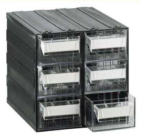 cassettiere mobil plastic T45 corpo vcomposto da 8 cassetti