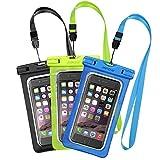Acquista [3 Pezzi] Custodia Impermeabile Mpow Custodia Impermeabile, Borsa Impermeabile ,Sacchetto Impermeabile Cellulare Dry Bag, Sacchetto di Smartphone Universale per iPhone 7/7 Plus, Galaxy /Google Pixel/LG/HTC