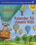 Der Kinder Brockhaus Kalender für clevere Kids Brockhaus. Tischkalender 2020. Tageskalendarium. Blockkalender. Format 12,5 x 16 cm