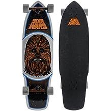 Santa Cruz Skateboard Longboard Star Wars Chewbacca - Longboard ( bala, need to be reviewed ), color marrón, talla DE: 10.0 x 35.0 Zoll