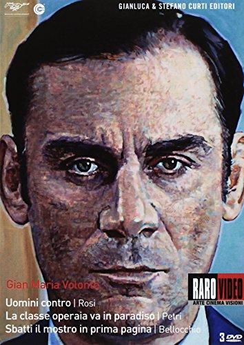 Gian Maria Volonté - Uomini contro + La classe operaia va in paradiso + Sbatti il mostro in prima pagina(+booklet) [3 DVDs] [I
