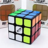 QiYi *THUNDERCLAP* V1 - 3x3 Professionnel & Compétition Cube de Vitesse Speed Cube Magic Cube Puzzle 3D - Noir / BLACK