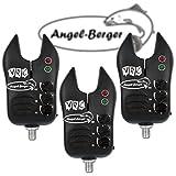 3x Angel Berger Elektronische VRC Bissanzeiger Sparpack
