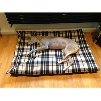 KosiPet® CREAM & BROWN CHECK Fleece LARGE SPARE COVER For Dog Bed,Dog Beds,Pet Bed,Dogbed,Dogbeds,Petbed,Petbeds, 7