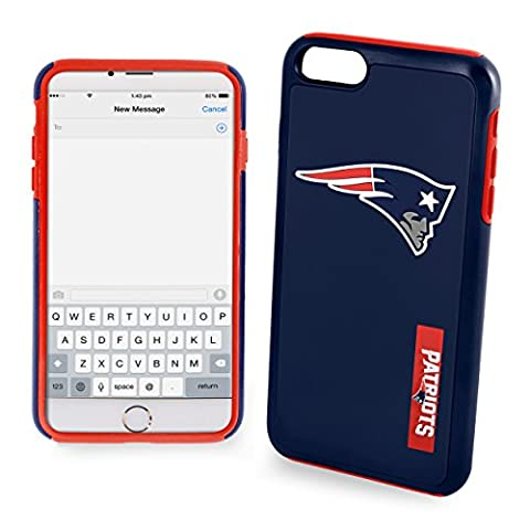 NFL New England Patriots Impact TPU 2-Piece Dual Hybrid iPhone 7 / 6 / 6s Cover - 4.7