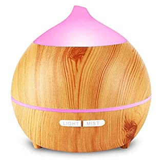 Aroma Diffuser, OKELAY 250ml Essential Oil Diffuser/Aromatherapy Diffuser/Diffuser Oils Fragrance/Oil Diffuser humidifier, 7 Colors Night Light and Waterless Auto Shut-Off for Home, Gift for Women