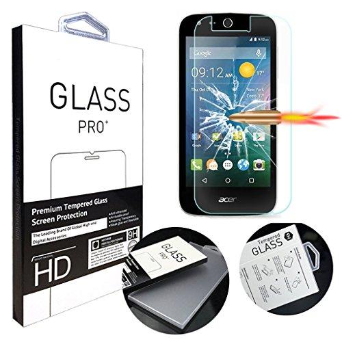 [1 Pack] Acer Liquid Z330 Schutzfolie, MYTHOLLOGY Gehärtetem Glas Hartglas Screen Protector Schutzfolie Folie Bildschirmschutz für Acer Liquid Z320 Z330 M330
