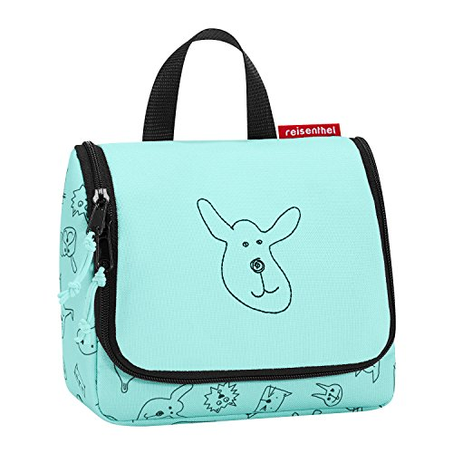 reisenthel toiletbag S kids cats and dogs mint Maße: 18,5 x 16 x 7 cm / Volumen: 1,5 l