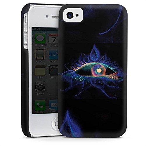 Apple iPhone 5s Housse étui coque protection ¼il ¼il Ésotérisme Cas Premium mat