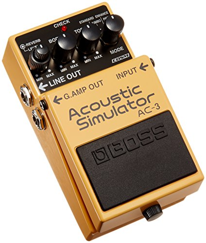 AC-3 - Boss: Pedal de guitarra AC-3 - Acoustic Guitar