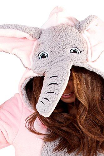 Loungeable Boutique -  Monopezzo  - Donna Elephant